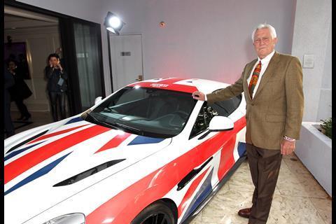 Former James Bond actor George Lazenby